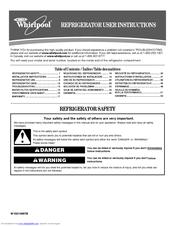 whirlpool gi6fdrxxy manuals rh manualslib com Whirlpool Refrigerator Power Consumption Sears Whirlpool Refrigerators