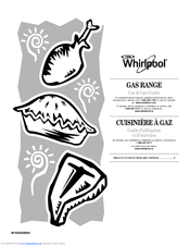 Whirlpool  GW399LXUQ Use & Care Manual