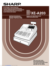 sharp xe a203 cash register thermal printing graphic logo creation rh manualslib com sharp xe-a203 cash register instruction manual sharp electronic cash register xe-a203 manual