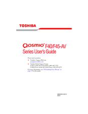 Toshiba Qosmio F45-AV413 Fingerprint Mac
