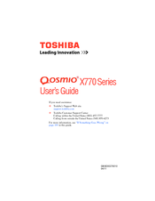 Toshiba X775-SP7102L User Manual