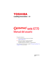 Toshiba X775-SP7102L Manual Del Usuario