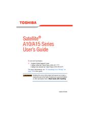 Driver UPDATE: Toshiba Tecra A10 Acoustic Silencer