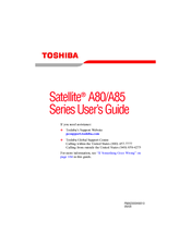 Toshiba A85-S107 User Manual