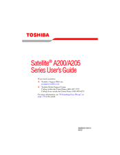 Toshiba A200-ST2041 User Manual