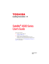 toshiba satellite a505 manuals rh manualslib com Toshiba Satellite A215 Toshiba Satellite A665