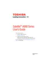 Toshiba A665-S6050 Manuals