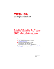 Toshiba Satellite Pro C650-SP5016L Manual Del Usuario