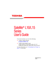 TOSHIBA SATELLITE L10-SP104 DRIVER WINDOWS 7 (2019)