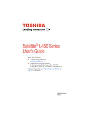Toshiba L455-S5009 User Manual