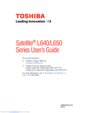 Toshiba L645D-S4050 User Manual