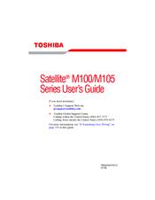 Toshiba M105-S1021 – Satellite – Celeron M 1.46 GHz User Manual