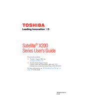 Toshiba Camileo x200 User Manual