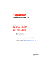 toshiba nb505 n500bl user manual pdf download rh manualslib com Toshiba NB500 Toshiba NB505 Factory Restore