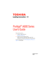 TOSHIBA PORTEGE A600 ACOUSTIC SILENCER DRIVER DOWNLOAD