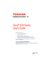 Toshiba Tecra A10 Acoustic Silencer Drivers Download Free