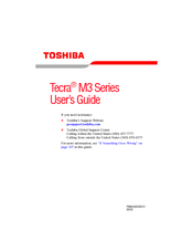 Toshiba M3-S316 User Manual