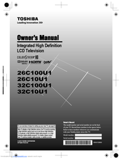 toshiba 26c100u1 manuals rh manualslib com toshiba tv model 26av52r manual Toshiba E-Studio203sd Manuals