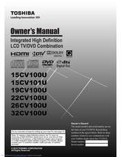 toshiba 19cv100u owner\u0027s manual pdf download Benq Wiring Diagram