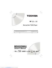 toshiba bdx2250 manual