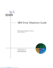 3com 3102 nbx business phone voip manual.