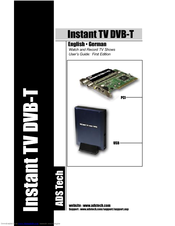 ADSTECH INSTANT TV DELUXE PCI DRIVERS FOR WINDOWS