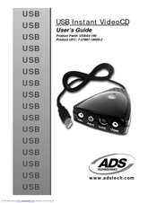 ADS USB INSTANT VIDEO USBAV-170 DOWNLOAD DRIVERS