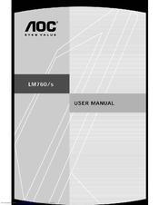 aoc lm760s manuals rh manualslib com Example User Guide Online User Guide