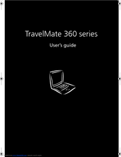 Acer TravelMate 360 User Manual
