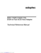ADAPTEC AHA-1744 WINDOWS 7 64BIT DRIVER