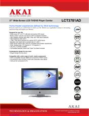 akai lct3701ad manuals rh manualslib com Sony DVD VCR Combo akai tv dvd vcr combo manual