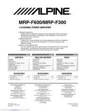 alpine mrp f300 owner's manual pdf download audio control wiring diagram alpine mrp f300 wiring diagram #2