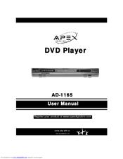 apex digital ad 1165 manuals rh manualslib com Emerson DVD Player Model Ewd Emerson DVD Player Model Ewd