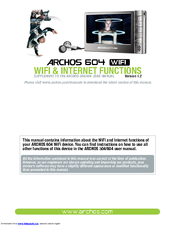 archos 404 user guide product user guide instruction u2022 rh testdpc co Archos 404 Camcorder Archos 504