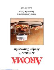 Aroma Aeromatic AST 900E Instruction And Recipe Manual