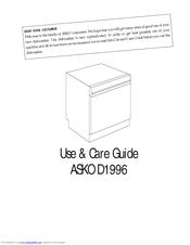 asko d1996 hndl manuals rh manualslib com Navy Start Guide Navy Start Guide PDF