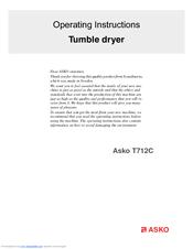 asko t712c manuals rh manualslib com Asko Washer and Dryer Asko Dryer T701