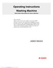 asko w6424 operating instructions manual pdf download rh manualslib com User Manual Example User Guide
