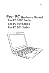 Asus Eee PC 1000 Series Hardware Manual