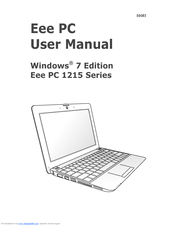 asus eee pc 1215t manuals rh manualslib com epic user guides epic user guide for case management