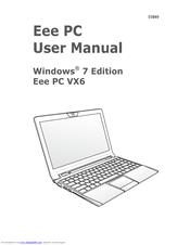 asus eee pc vx6 manuals rh manualslib com asus eee pc 1000h manual pdf asus eee pc 1000ha manual