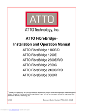 ATTO FIBREBRIDGE 1180D DRIVER FOR WINDOWS 10
