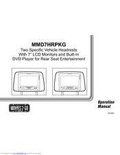 audiovox mmd7hrpkg movies2go dvd player manuals rh manualslib com Audiovox DVD Players for Automobiles Audiovox Overhead DVD Player