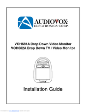 Audiovox VOH682A - VOH 682A - LCD Monitor Manuals on