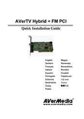 AVERMEDIA AVERTV HYBRID+FM PCI DRIVER