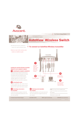 avocent autoview 2015 manuals rh manualslib com New Balance Manuals User Guide Template
