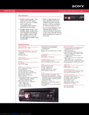 213654_cdxgt330_product sony cdx gt330 radio cd manuals sony cdx gt130 wiring diagram at crackthecode.co
