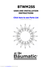 baumatic microwave oven instructions