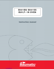 baumatic b501ss manuals rh manualslib com baumatic electric oven user manual Baumatic Ovens UK