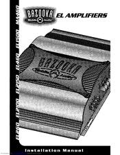 bazooka el460 manuals rh manualslib com Bazooka 500 Watt Amplifiers 700 Watt Bazooka Amp